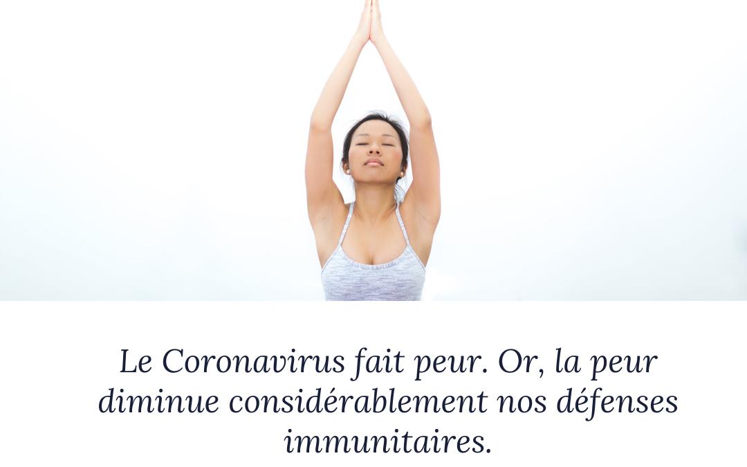 Je vous partage ici tous mes conseils pour renforcer votre système immunitaire face au Coronavirus.