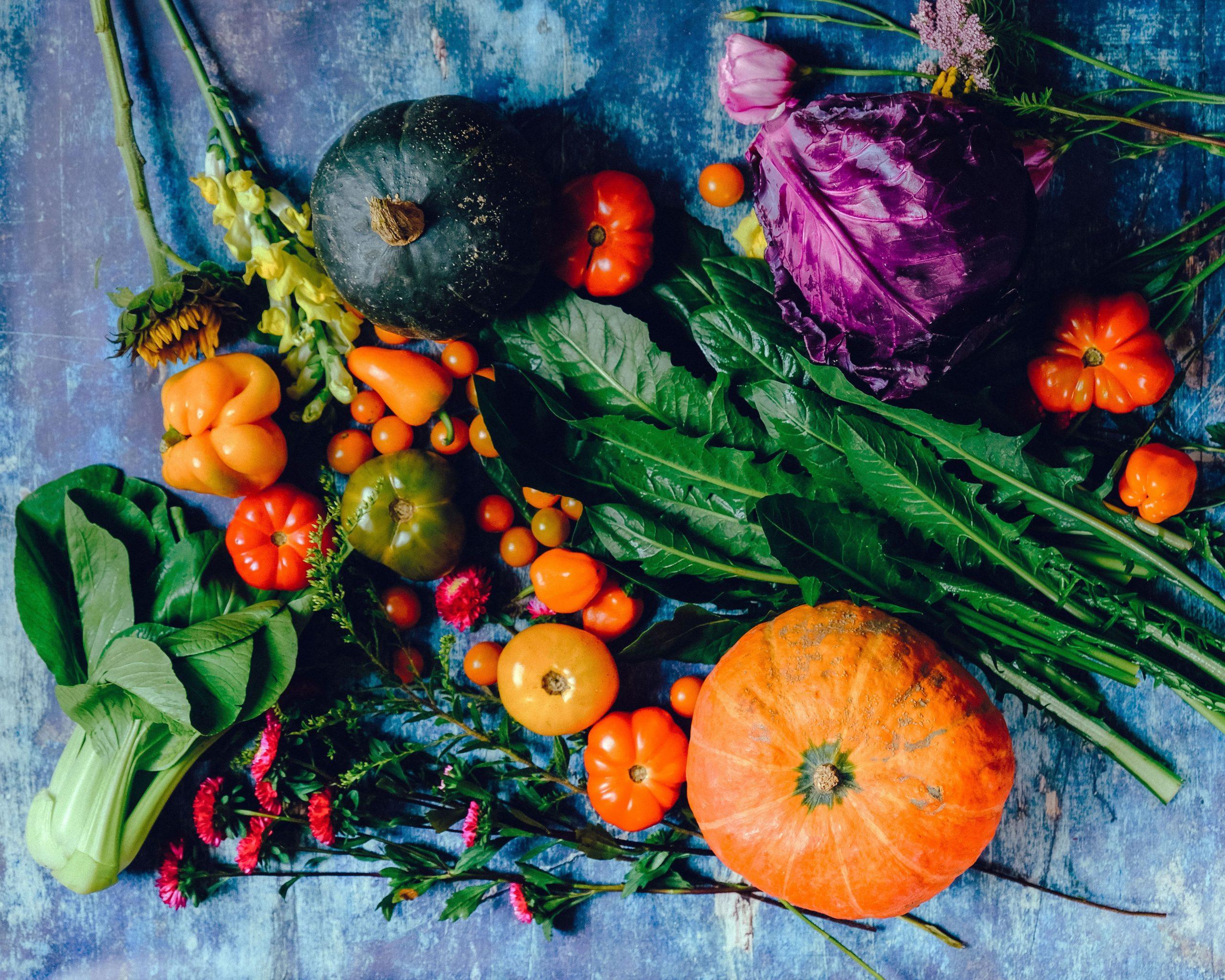 Légumes et fruits frais